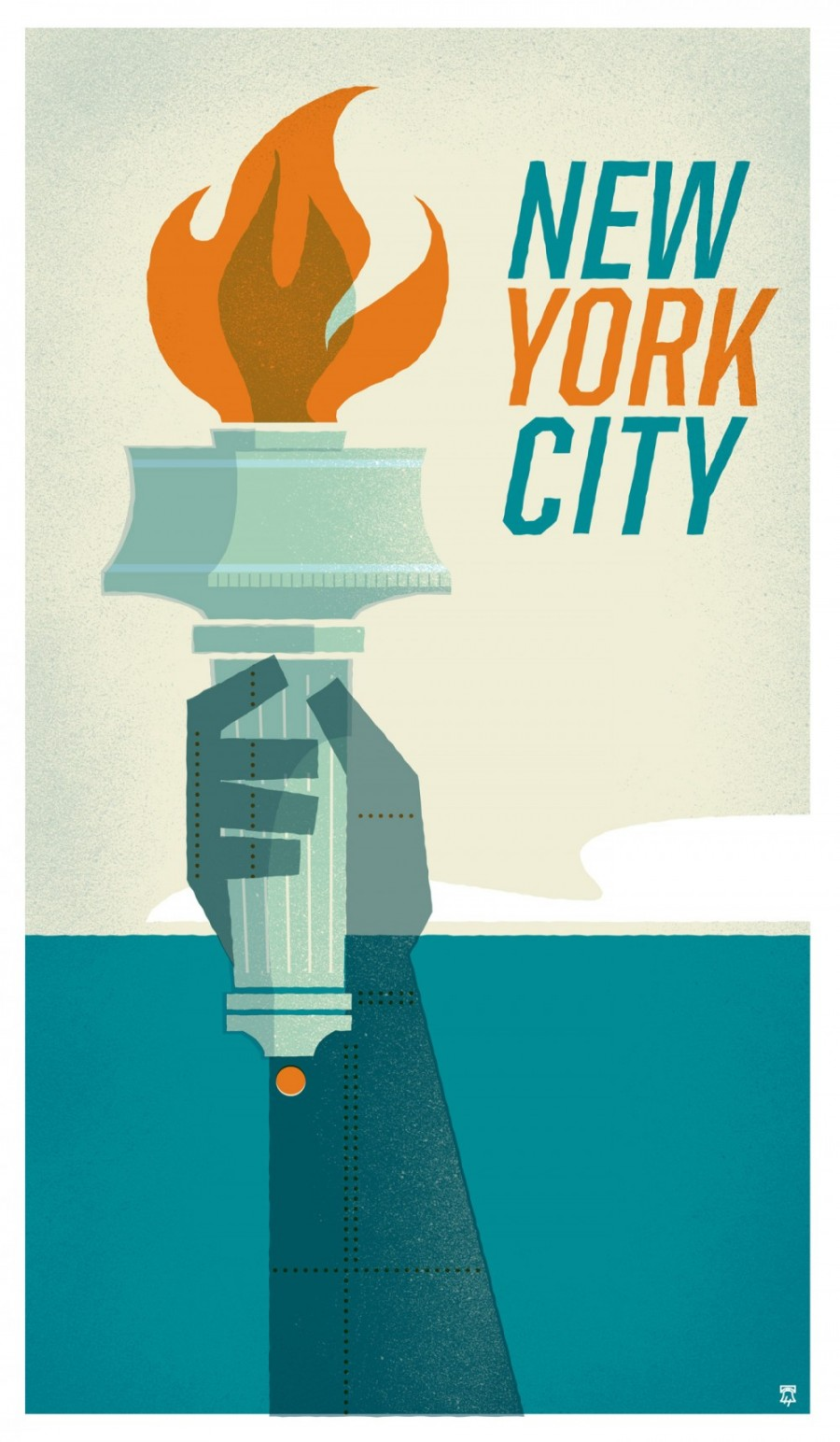 Poster design new york - New York New York Travel Poster Series The Heads Of State