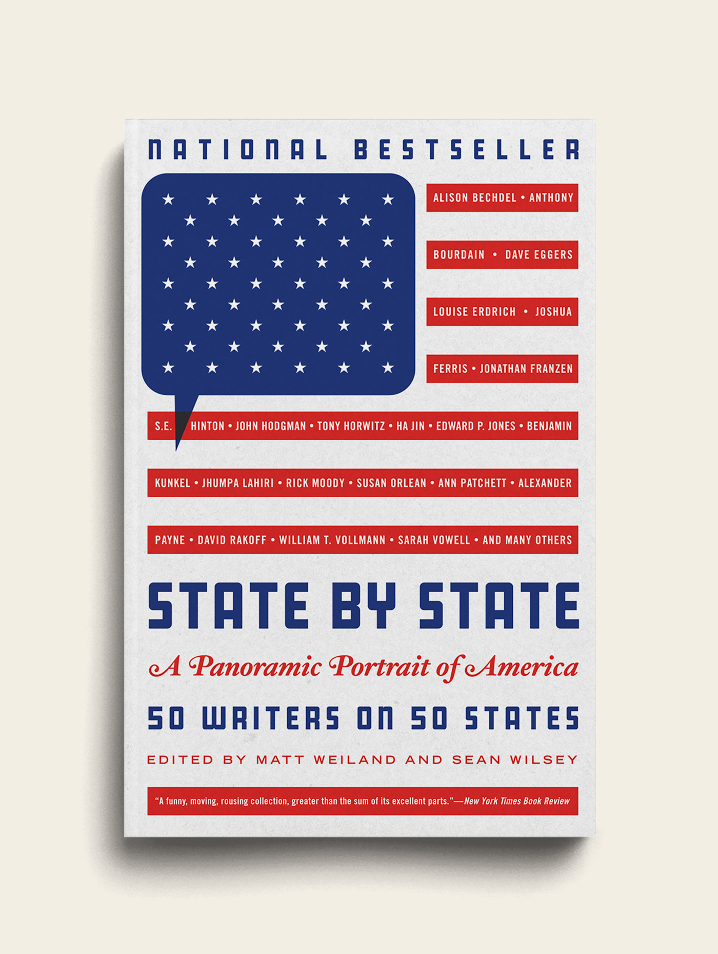 Sean Wilsey - State by State Book Cover - The Heads of State