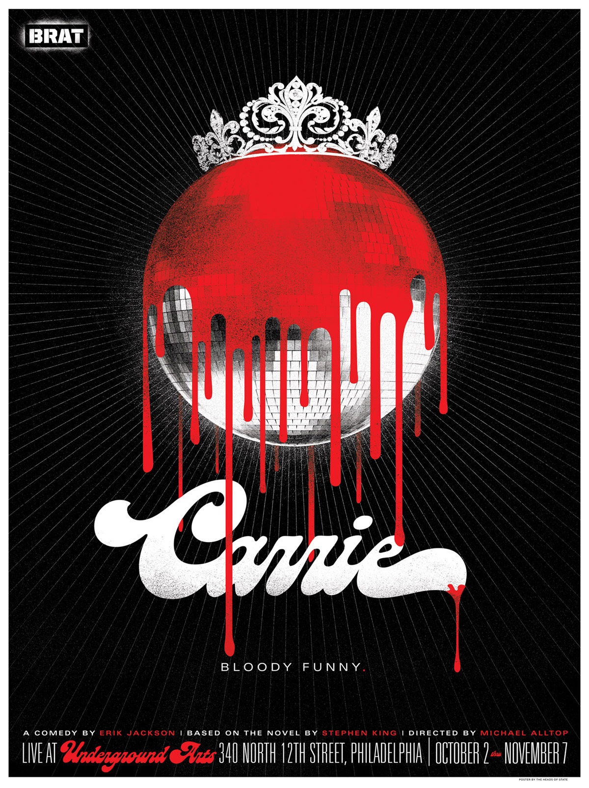 Carrie Poster - The Heads of State