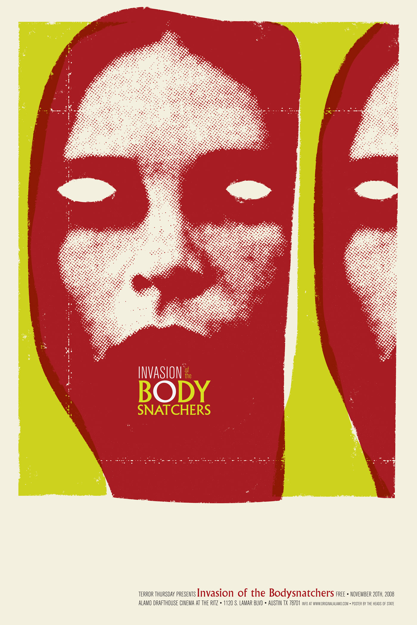 Invasion of the Body Snatchers Poster - The Heads of State
