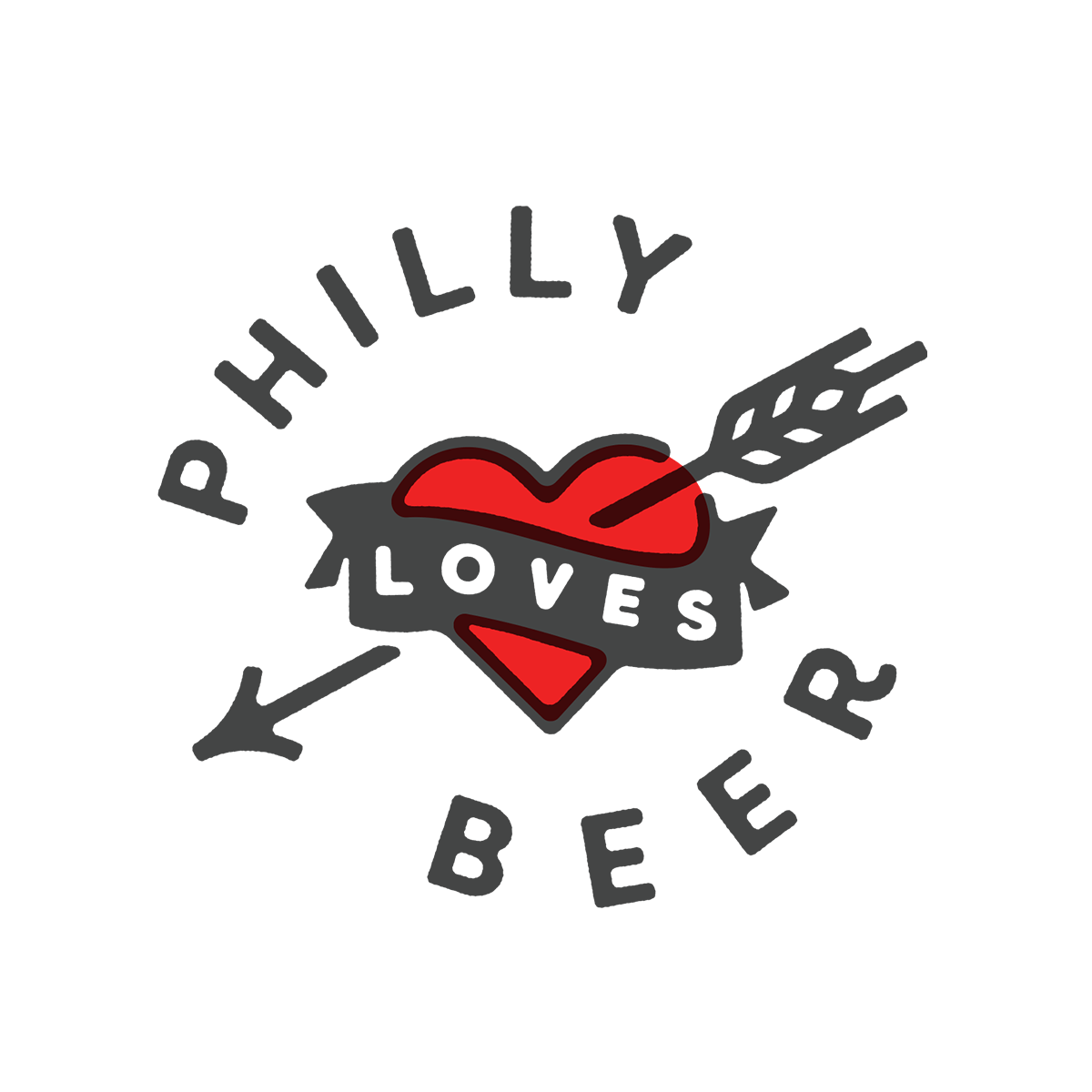 Logo for Philly Loves Beer
