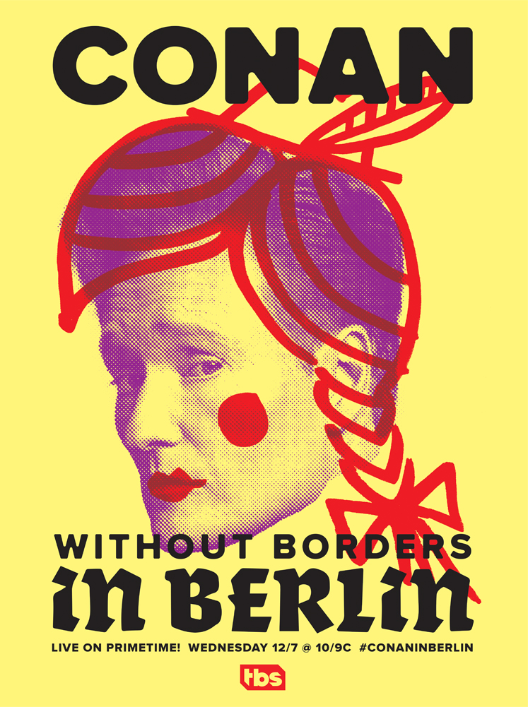 Alternate Poster for Conan in Berlin