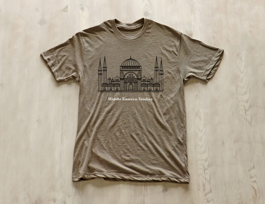 BYU Middle Eastern Studies shirt