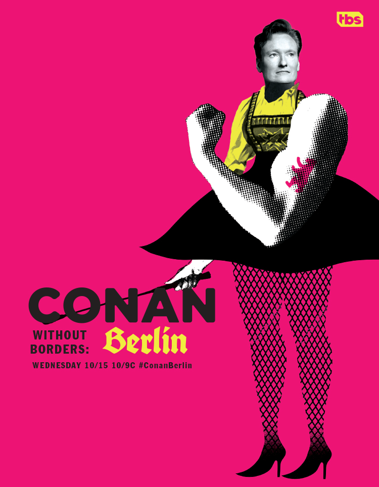 poster for Conan in Berlin